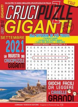 Crucipuzzle Giganti – settembre 2021