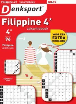 Denksport Filippine 4 Vakantieboek – augustus 2021