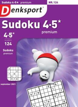 Denksport Sudoku 4-5 premium – 02 september 2021