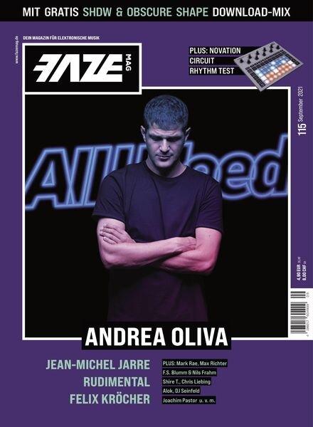 FAZE Magazin – September 2021 Cover
