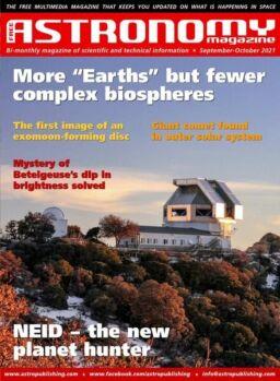 Free Astronomy – September-October 2021