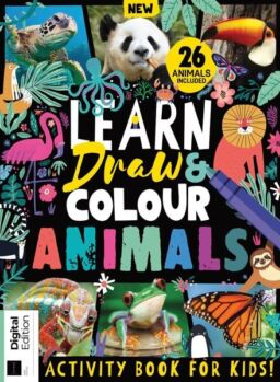 Learn Draw & Colour Animals – 03 September 2021