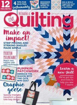 Love Patchwork & Quilting – October 2021