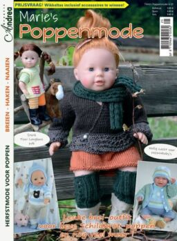 Marie's Poppenmode Dutch Edition – augustus 2021