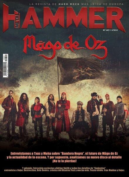 Metal Hammer Espana – septiembre 2021 Cover