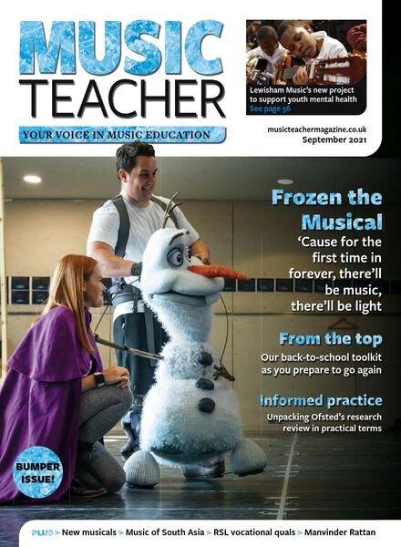 Music Teacher – September 2021 Cover