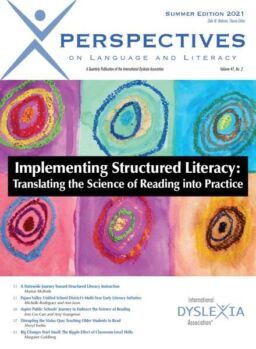 Perspectives on Language And Literacy – Summer 2021
