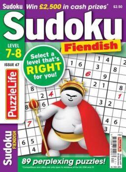 PuzzleLife Sudoku Fiendish – 01 August 2021