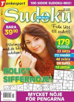 Sudoku for alla – 02 september 2021