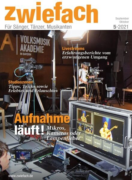 zwiefach – 30 August 2021 Cover