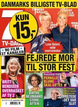 7 TV-Dage – 13 september 2021