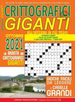 Crittografici Giganti – ottobre 2021