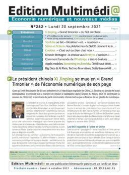 edition Multimedia – 20 Septembre 2021