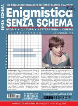 Enigmistica Senza Schema – ottobre 2021