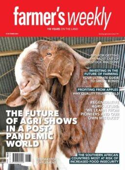 Farmer's Weekly – 08 October 2021