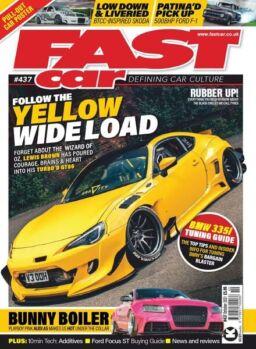 Fast Car – October 2021