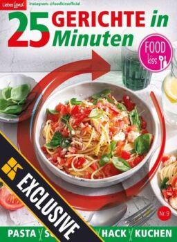 FOODkiss 25 Gerichte in 25 Minuten – September 2021