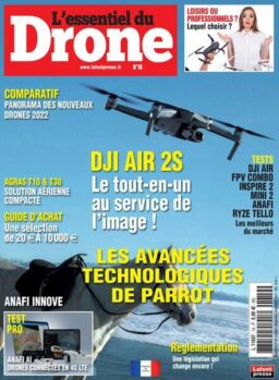 L'Essentiel du Drone – Octobre-Decembre 2021