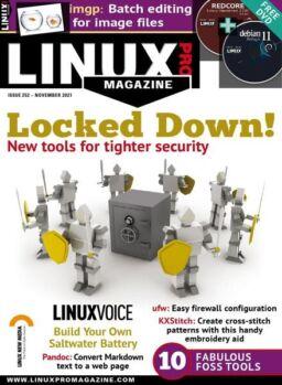 Linux Magazine USA – Issue 252 – November 2021