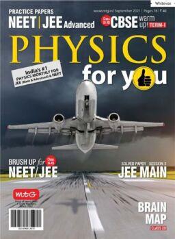 Physics For You – September 2021