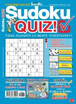 Sudoku Quiz – settembre 2021