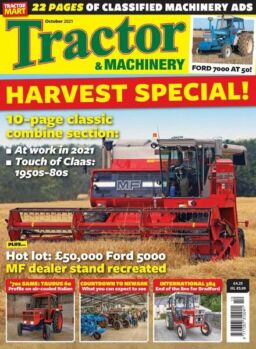 Tractor & Machinery – October 2021
