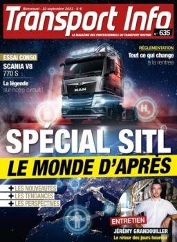Transport Info – 10 Septembre 2021