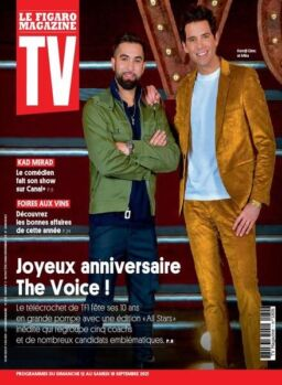 TV Magazine – 12 Septembre 2021