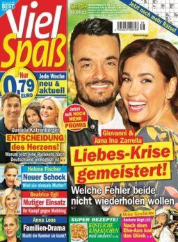 Viel Spass – 15 September 2021